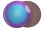 Линза PRIZM™ Snow Sapphire Iridium
